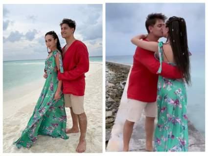 Ольга Бузова и Давид Манукян устроили свадьбу на Мальдивах
