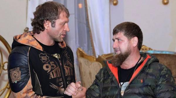 Емельяненко назвал Кадырова силой за помощь в подготовке к бою