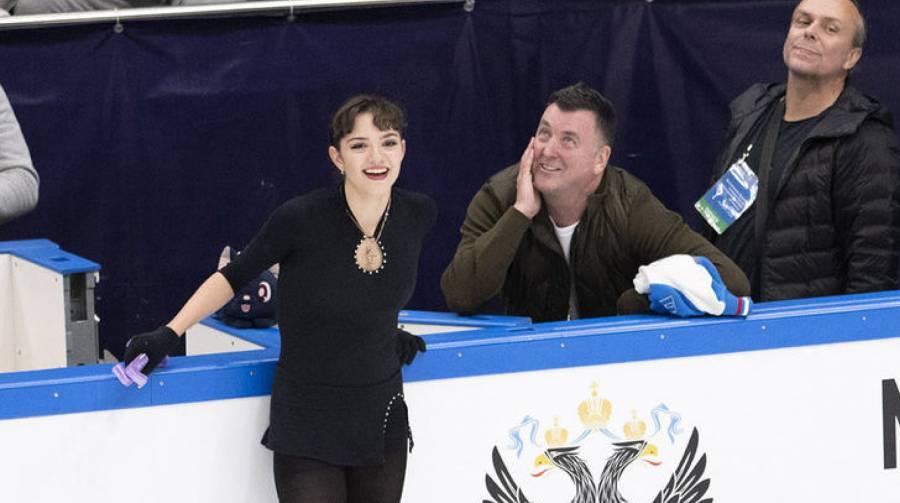 Тренер Евгении Медведевой рассказал, как работает с фигуристами