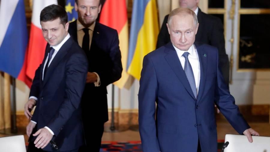 Путин обсудил с Зеленским урегулирование конфликта в Донбассе