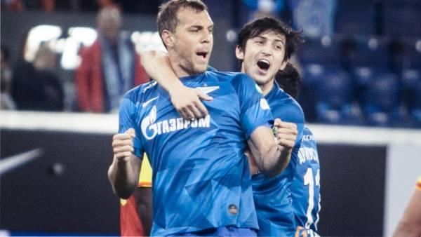Азмун и Дзюба стали лучшими бомбардирами чемпионата России по футболу