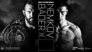 Чемпионский бой Немкова и Бейдера за пояс Bellator пройдет в августе