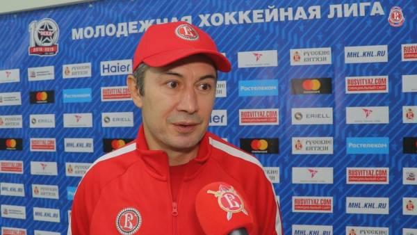 Рустем Камалетдинов стал главным тренером «Русских Витязей»