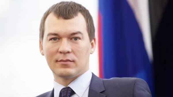 Хабаровский врио губернатора уволил трех чиновников команды Фургала
