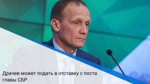 Драчев может подать в отставку с поста главы СБР