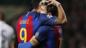 Суарес прокомментировал слухи о возможном уходе Месси из «Барселоны»