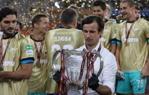 """Футболисты """"Зенита"""" разбили трофей, празднуя победу в Кубке России"""