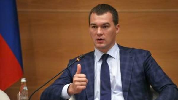 Врио главы Хабаровского края Дегтярева представили правительству региона
