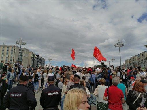 В Москве прошла акция с задержаниями «Антикапитализм-2021»