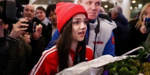 Фигуристка Евгения Медведева рассказала в каких-случаях откажет в совместном фото