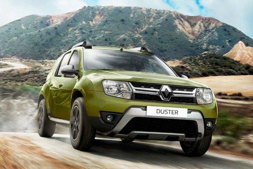 Renault Duster возглавил топ-5 самых популярных европейских кроссоверов в России