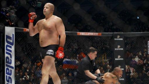 Российский боец MMA Фёдор Емельяненко не знает, с кем проведет бой на турнире Bellator