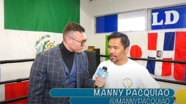 Мэнни Пакьяо объявил о незаинтересованности в бое с Конором Макгрегором