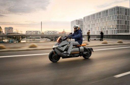 BMW создает футуристический электроскутер CE 04