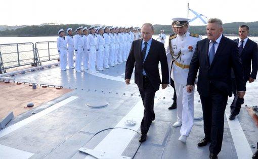 Политику Путина на Чёрном море считают исполнением завещания Петра I по выходу РФ в южные моря