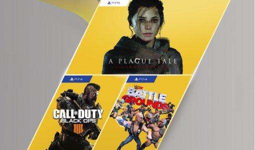 Список бесплатных игр PS Plus включает Black Ops 4, WWE 2K Battlegrounds и A Plague Tale: Innocence