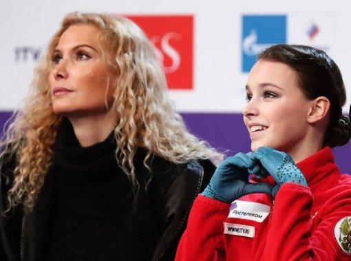 Анна Щербакова рассказала о влиянии Этери Тутберидзе на ее карьеру