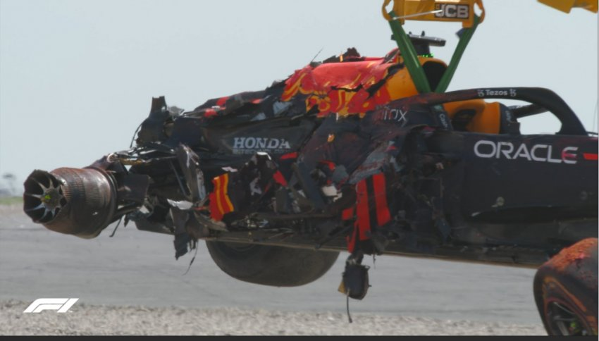 В Honda надеяться на починку мотора болида Ферстаппена
