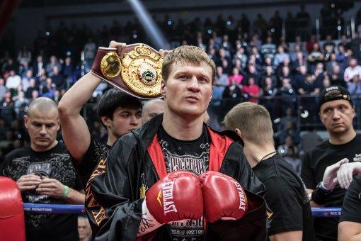 Чемпиона супертяжеловеса Александра Поветкина исключили из рейтинга WBC