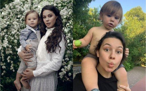 Елена Ильиных переживает за здоровье 1,5 годовалого сына