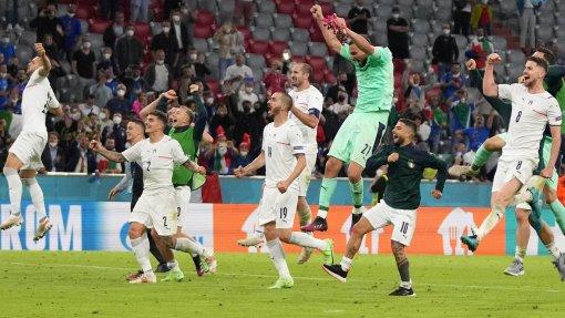 Команды Италии и Испании поборются за выход в финал Евро-2020