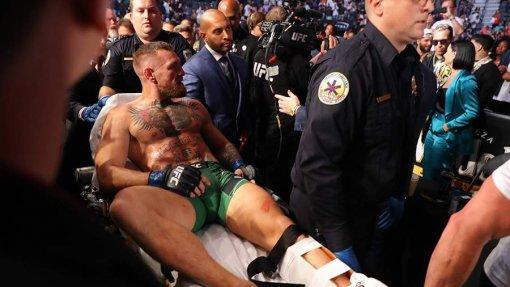 Ирландскому бойцу Макгрегору провели операцию на ноге после поединка с Порье
