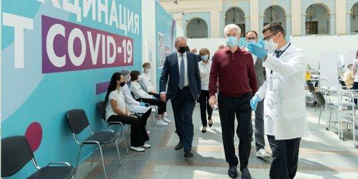 В Москве в Гостином дворе открывается крупнейший в Европе пункт вакцинации от коронавируса