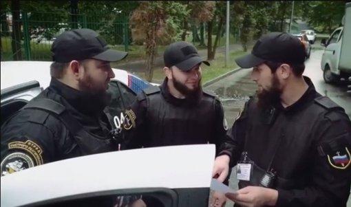 В подмосковном Троицке кавказцы наняты для охраны правопорядка