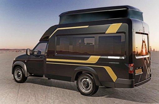 У автодома «УАЗ» появится новая версия с подъёмной крышей