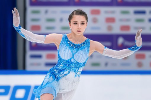 15-летняя фигуристка Камила Валиева стала амбассадором спортивного бренда PUMA