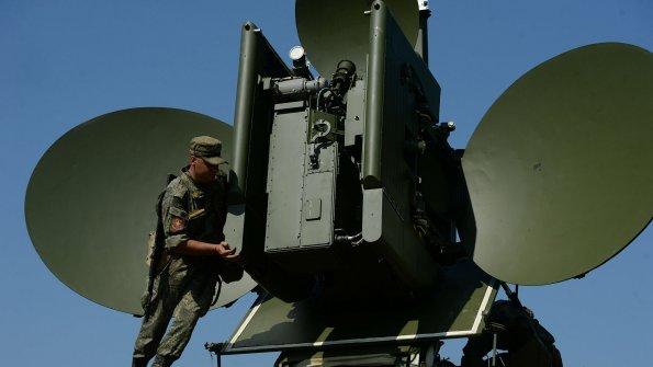 Российский комплекс РЭБ атаковал спутник НАТО в небе над Ростовом-на-Дону
