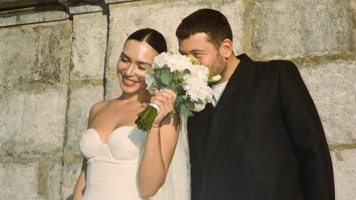 Певица Ольга Серябкина показала фото со свадьбы в Альпах