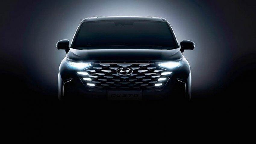 Hyundai показал первые изображения нового минивэна Custo