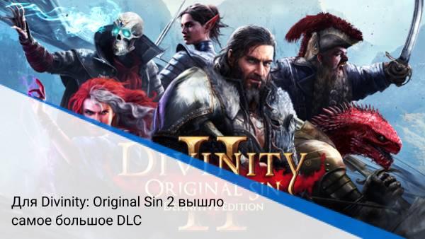 Для Divinity: Original Sin 2 вышло самое большое DLC