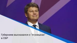 """Губерниев высказался о """"лгунишках"""" в СБР"""