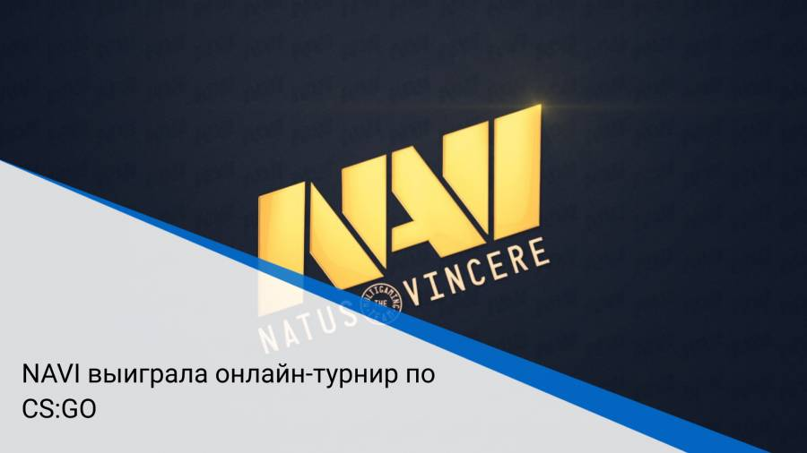 NAVI выиграла онлайн-турнир по CS:GO