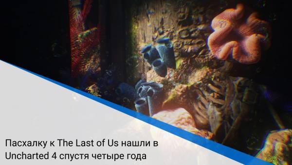 Пасхалку к The Last of Us нашли в Uncharted 4 спустя четыре года