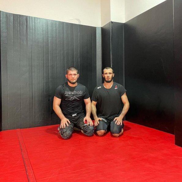 Хабиб Нурмагомедов рассказал о тренировке с бойцом Bellator Исламом Мамедовым
