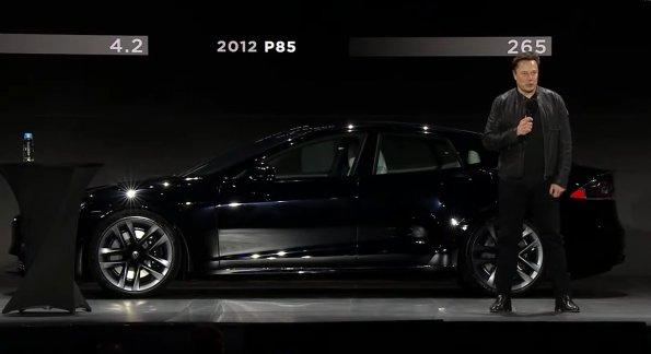Компания Tesla презентовала свой самый быстрый электромобиль в мире Model S Plaid