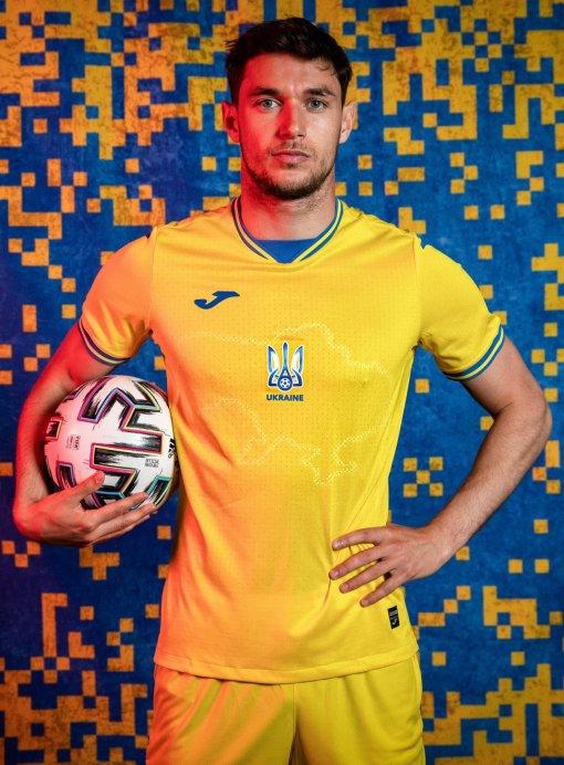 УЕФА утвердил форму украинской сборной для Евро-2020 с контурами Крыма