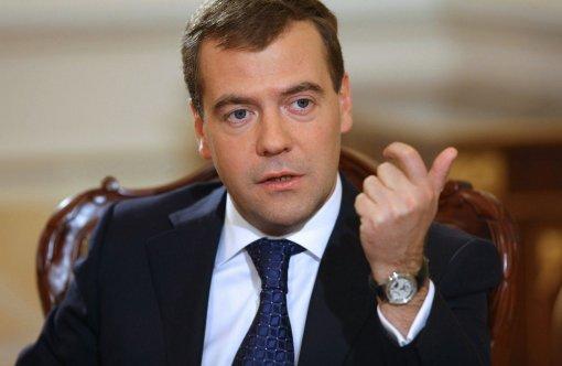 Председатель партии «Единая Россия» Медведев призвал бороться с незаконными свалками