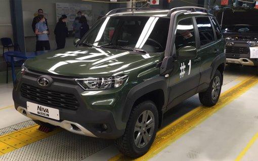 Новая Lada Niva Travel стала продаваться в дилерских центрах Словакии