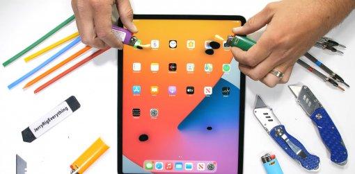 Новый iPad Pro прошёл испытания на прочность известным ломателем гаджетов