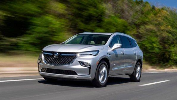 Компания Buick презентовала обновленный кроссовер Enclave