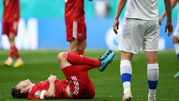 В сборной РФ сообщили о состоянии получившего травму в матче с финнами Марио Фернандеса