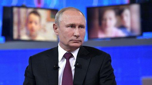 Путин рассказал, какой вакциной привился и заявил о высоком уровне антител