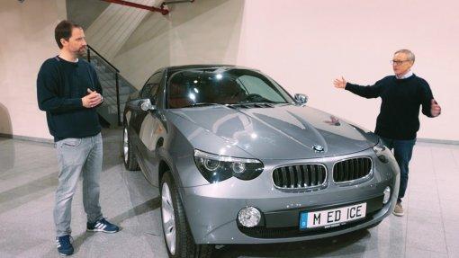 BMW впервые показала неординарный концепт, созданный 17 лет назад