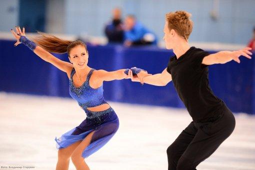 Дочь тренера Этери Тутберидзе провела фотосессию с партнёром по танцам на льду Глебом Смолкиным