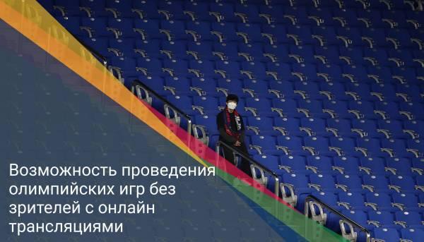 Возможность проведения олимпийских игр без зрителей с онлайн трансляциями