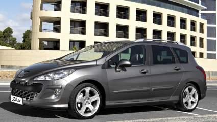 Опубликованы новые изображения универсала Peugeot 308 следующего поколения